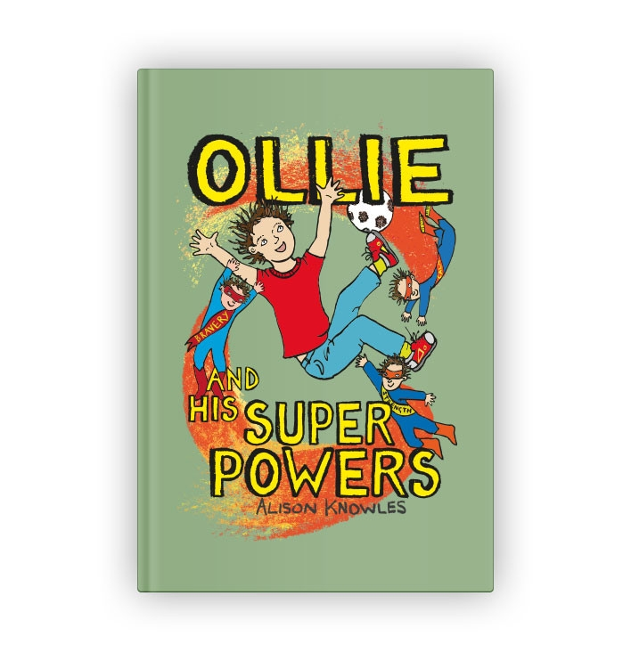 Ollie and his Superpowers book
